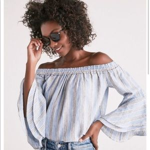 🛍3 for $25🛍 Lucky Brand Off The Shoulder  Blouse